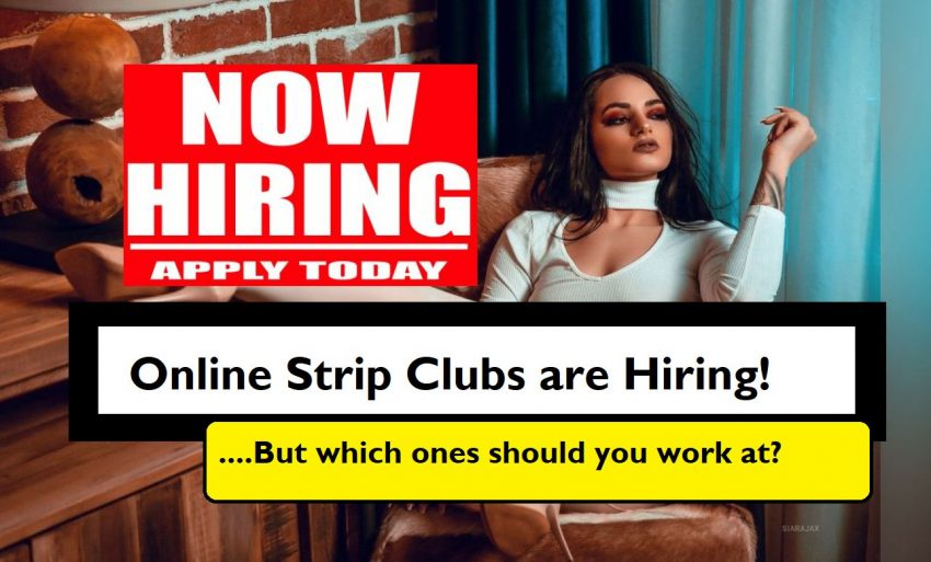 online strip sites hiring