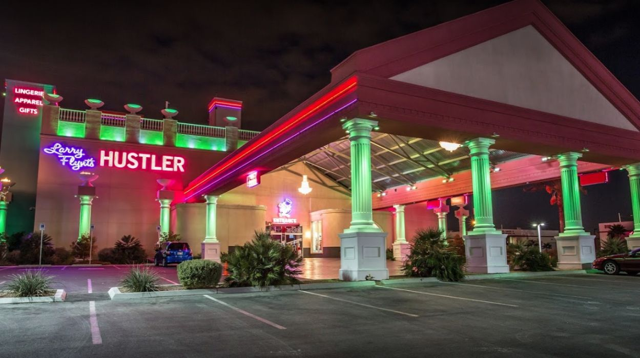 Larry Flynt's Hustler Club in Las Vegas