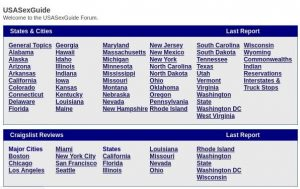 Usasexguide cities